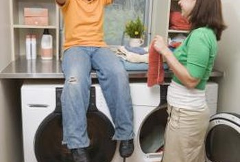 A chute can add huge convenience to laundry day.