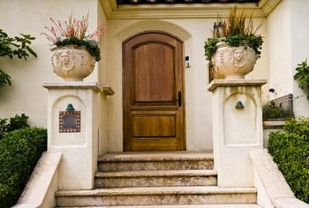 The right decorations on your steps set the tone for your home.