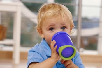 Babies more than a year old can have a little chocolate in their milk now and then, but put it in a cup, not a bottle.