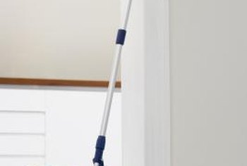 Regular mopping keeps porcelain tiles glossy.