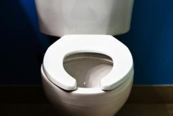 A toilet waste system begins at the toilet flange.