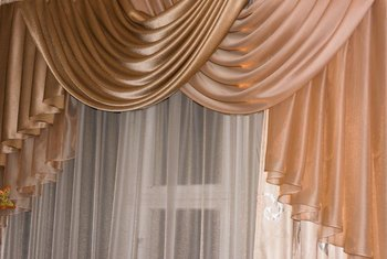 How To Make Waterfall Valances Home Guides Sf Gate
