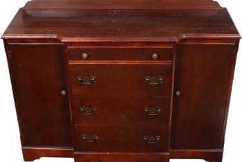 Damaged walnut veneers can be repaired with a little time and some professional tips.