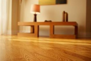 Oak floors lend a warm, classic feeling to any home.