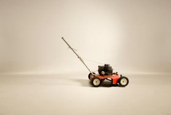 Transform a second hand lawnmower into a mulcher.