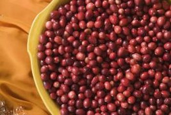 Cranberries are high in antioxidants that help fight free radicals.