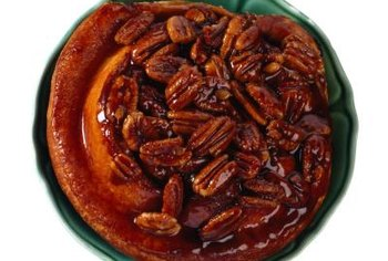Pecans are a favorite.