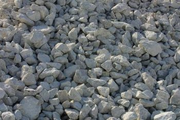 A gravel base is essential for a French drain.
