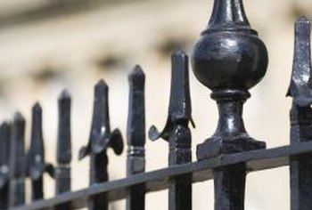 Installed Wrought Iron Railings It S Important To Begin With A Smooth Clean And Dry Surface Before Priming Painting