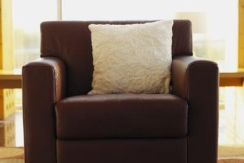 Heavy armchairs leave dents in many types of carpet.