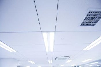The structure of drop ceilings gives them some sound-blocking benefits.