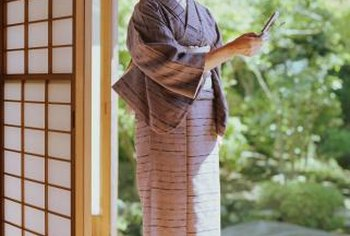 Borrow a design innovation from Japan and use shoji screens to divide your space.