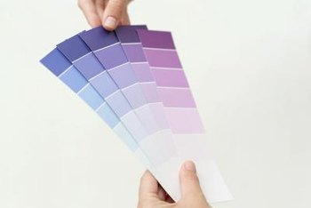 How To Make A Purple Bathroom Look Lighter Home Guides Sf Gate