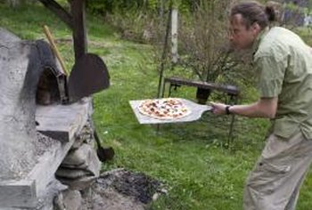 Outdoor ovens can be built with natural materials for less than $50.