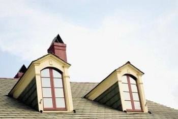 Roofing around dormers like these can be a challenge.