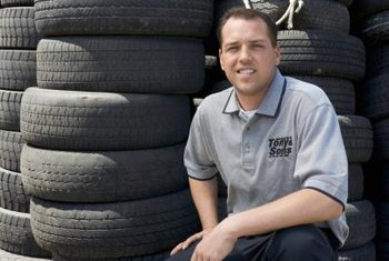 Over 230 million tires were recycled in 2003. (See Reference 1)
