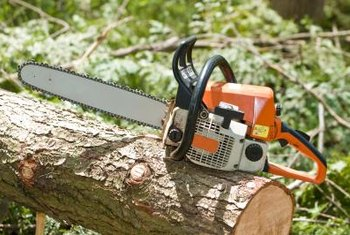 Check the tension of your chainsaw's chain regularly and adjust it when necessary.