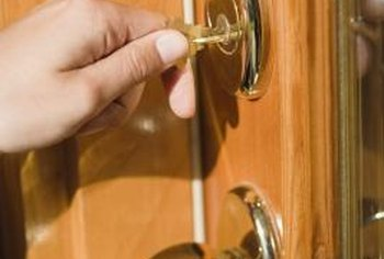 You can rekey your new deadbolt so that you only need one key for the front door.