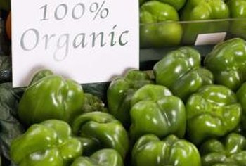 Organic fertilizers provide the nutrients peppers need, without chemicals.