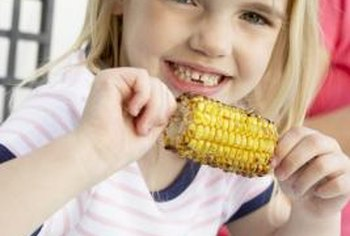 """Golden Bantam"" corn is an heirloom variety of sweet corn."