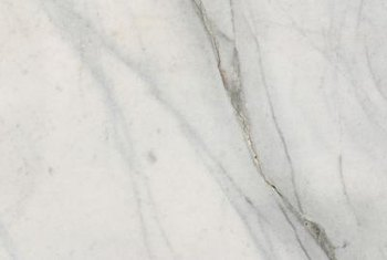 Marble is best known for the veins in the stone.