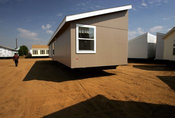 Removing interior weight can lower a mobile home's transport costs.