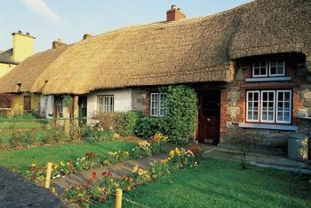 Thatch is good for cottage roofs, not so good for lawns.