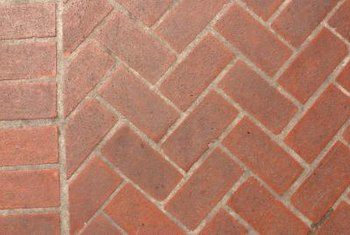 Brick walks can be laid in a variety of patterns.