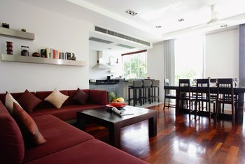Cleverly furnished apartments usually rent for more than unfurnished ones.