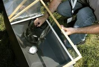 Modify a basic solar cooker design as needed to enhance your cooking results.