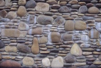 Pebbles can be used in many ways for indoor and outdoor tile installations.