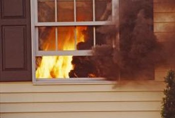 Vinyl siding is vulnerable to fire damage.