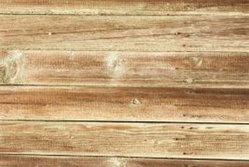 Properly marked and dented veneer can simulate the appearance of aged wood.