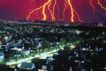 Lightning strikes can't be prevented, but precautions can be taken.