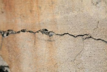 Wall cracks can indicate a need for foundation repair.