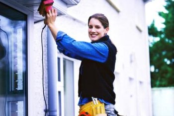 Sanding is the most important step in exterior paint preparation
