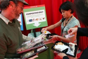 Composting food waste is economical and environmentally friendly.