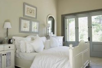 Traditional Interior Color Schemes. Gray And White Combine To Create A  Harmonious Blend.