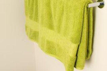 Decorative Ways To Hang Bath Towels Home Guides Sf Gate