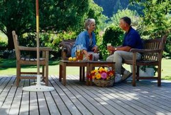 Outdoor decks should be both functional and attractive.