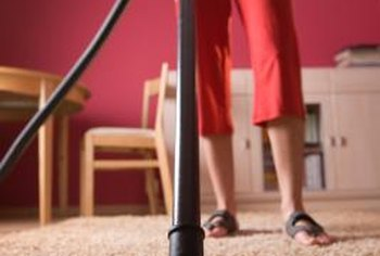 Vacuuming should be a part of your regular cleaning routine.