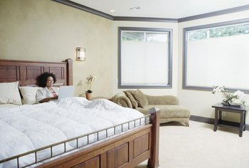 King mattresses require sturdy box springs and a frame with a center support rail to minimize body impressions.