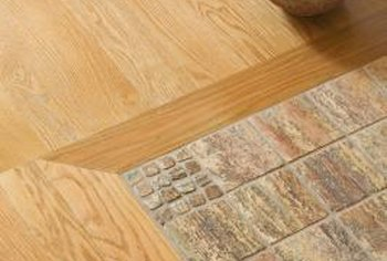 Transitions From Tile to a Wood Floor in a Doorway | Home Guides ...