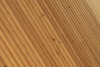 Beadboard consists of strips assembled side by side.