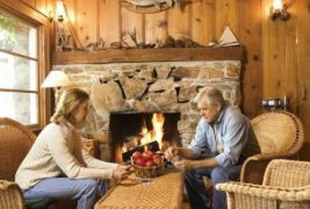 Adding Wood Paneling To Your Walls And Ceiling Can Give Home A Charming Log Cabin