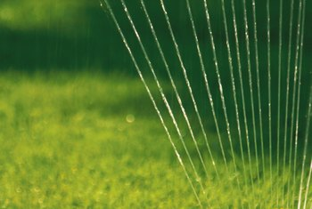 Watering your lawn during cool weather saves money and improves your lawn.