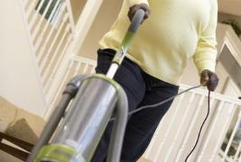 Carpets hold particles deep in the fibers, which require powerful cleaning that a vacuum can't provide.