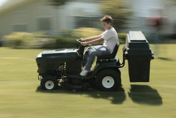 New blades can increase the efficiency of your riding mower.