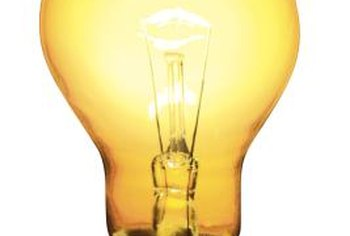 Incandescent bulbs hum when their filaments vibrate.