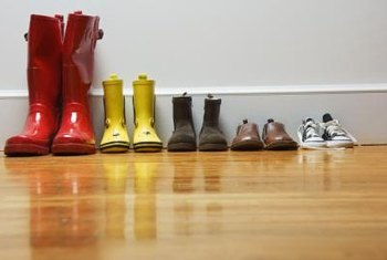 Hardwood floors and children can be a formula for investment disaster.